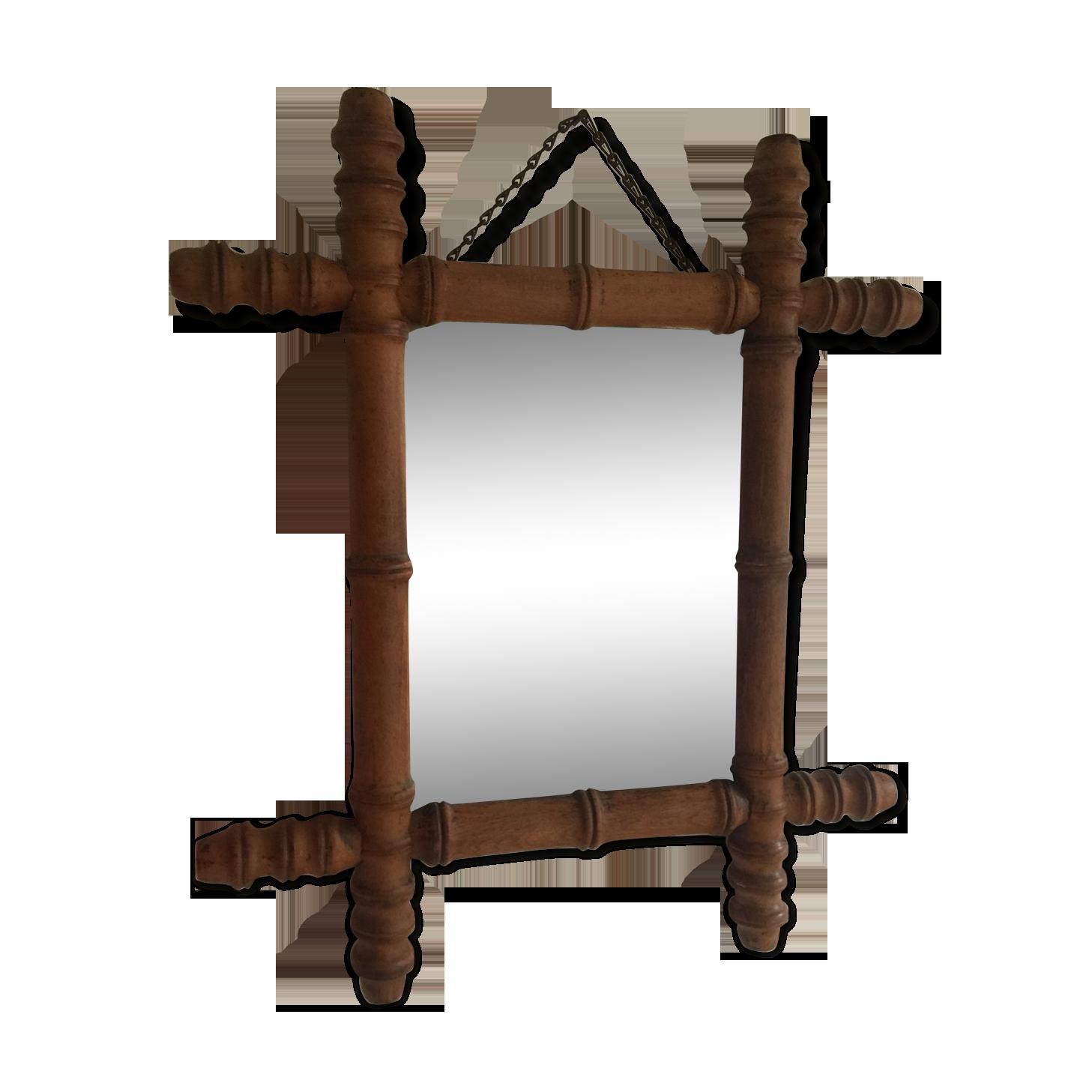 Miroir mural miroir ancien baroque FACETTES Taille XL Miroir encadrement en bois