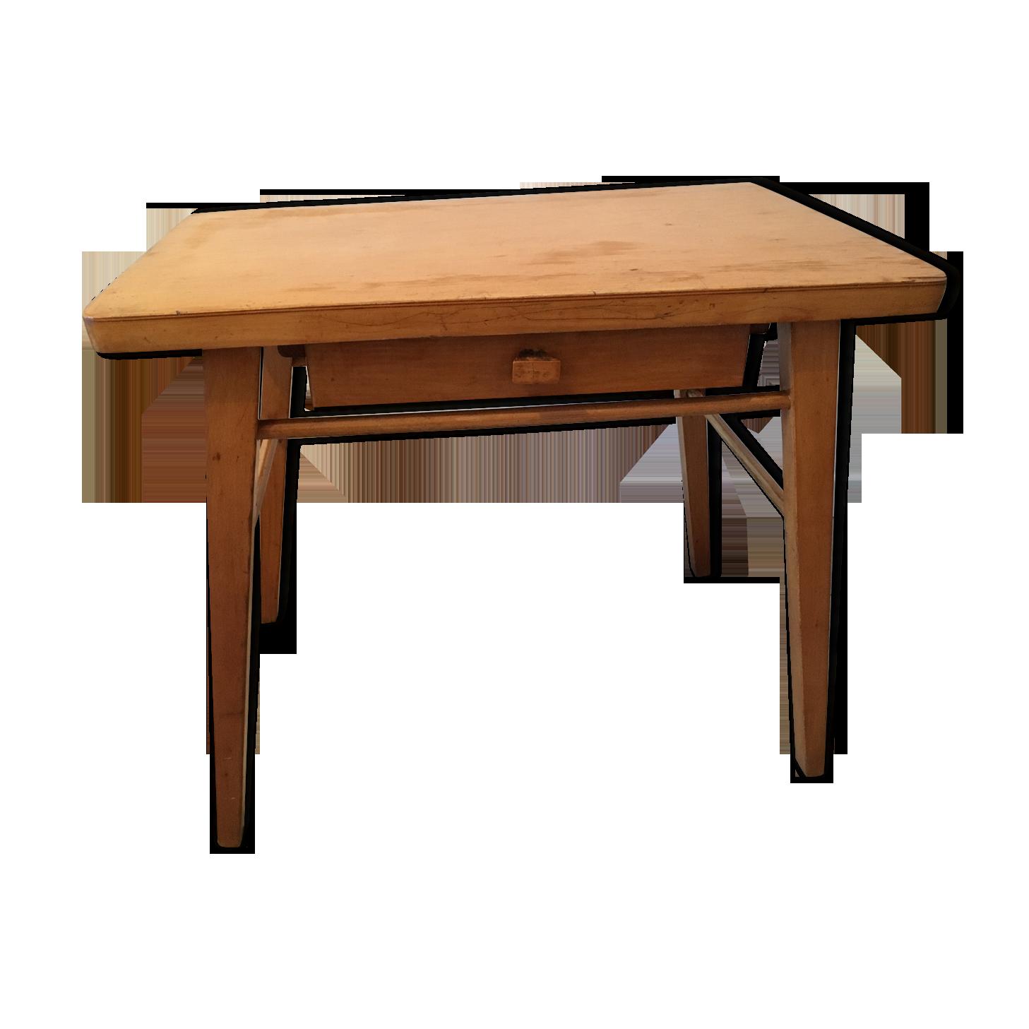 Bureau enfant bois baumann bois matériau bois couleur