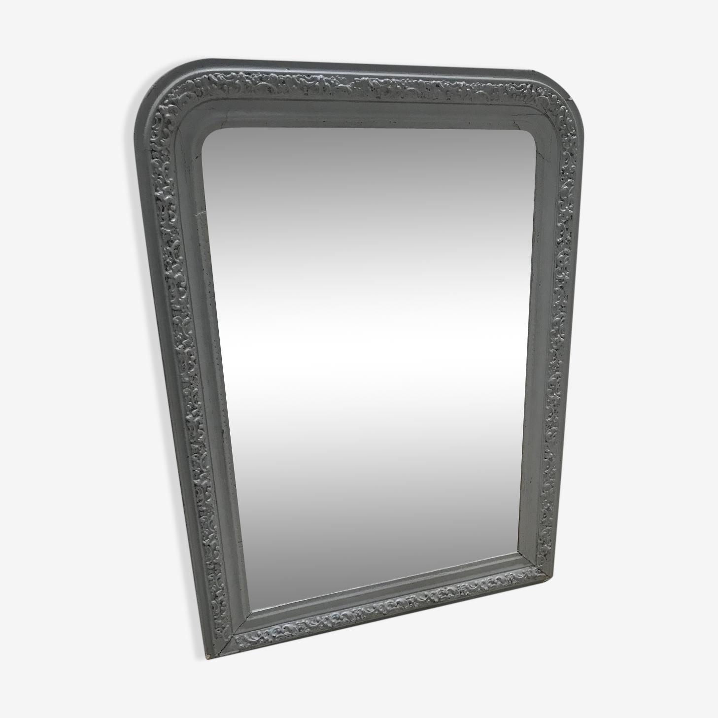 Miroir ancien de style Louis Philippe 90 x 66 cm