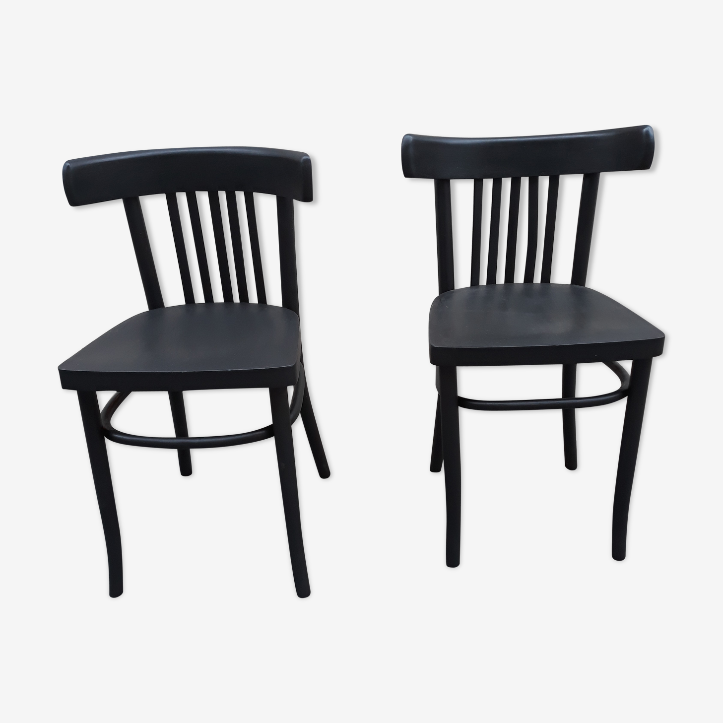 Pair of vintage bistro chairs