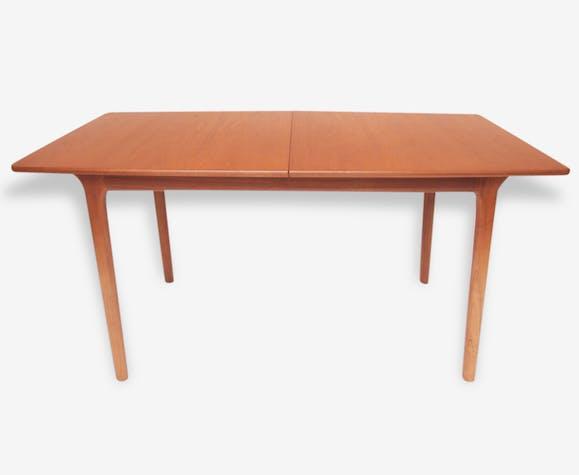 Table salle à manger scandinave McIntosh années 50 60 - bois ...