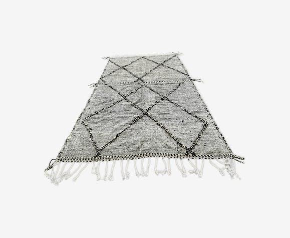 Tapis berbere kilim en laine fait main 290x190 cm