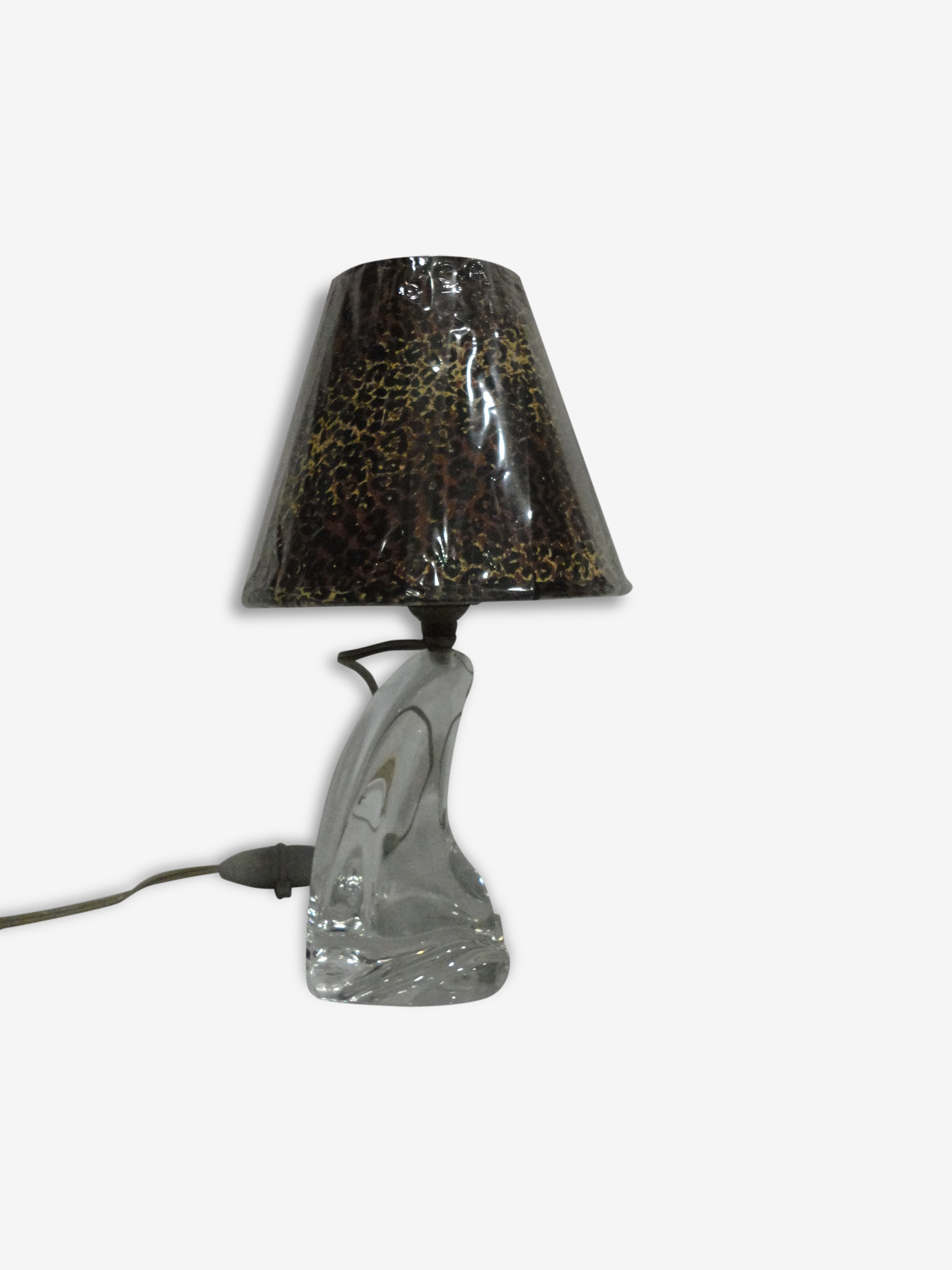 Lampe Cristal De Daum France Glass And Crystal Transparent