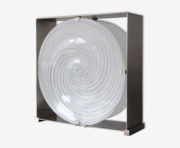 Lampe de table spirale Mazzega