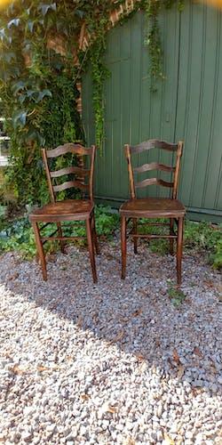 Lot de 2 chaises de bistrot