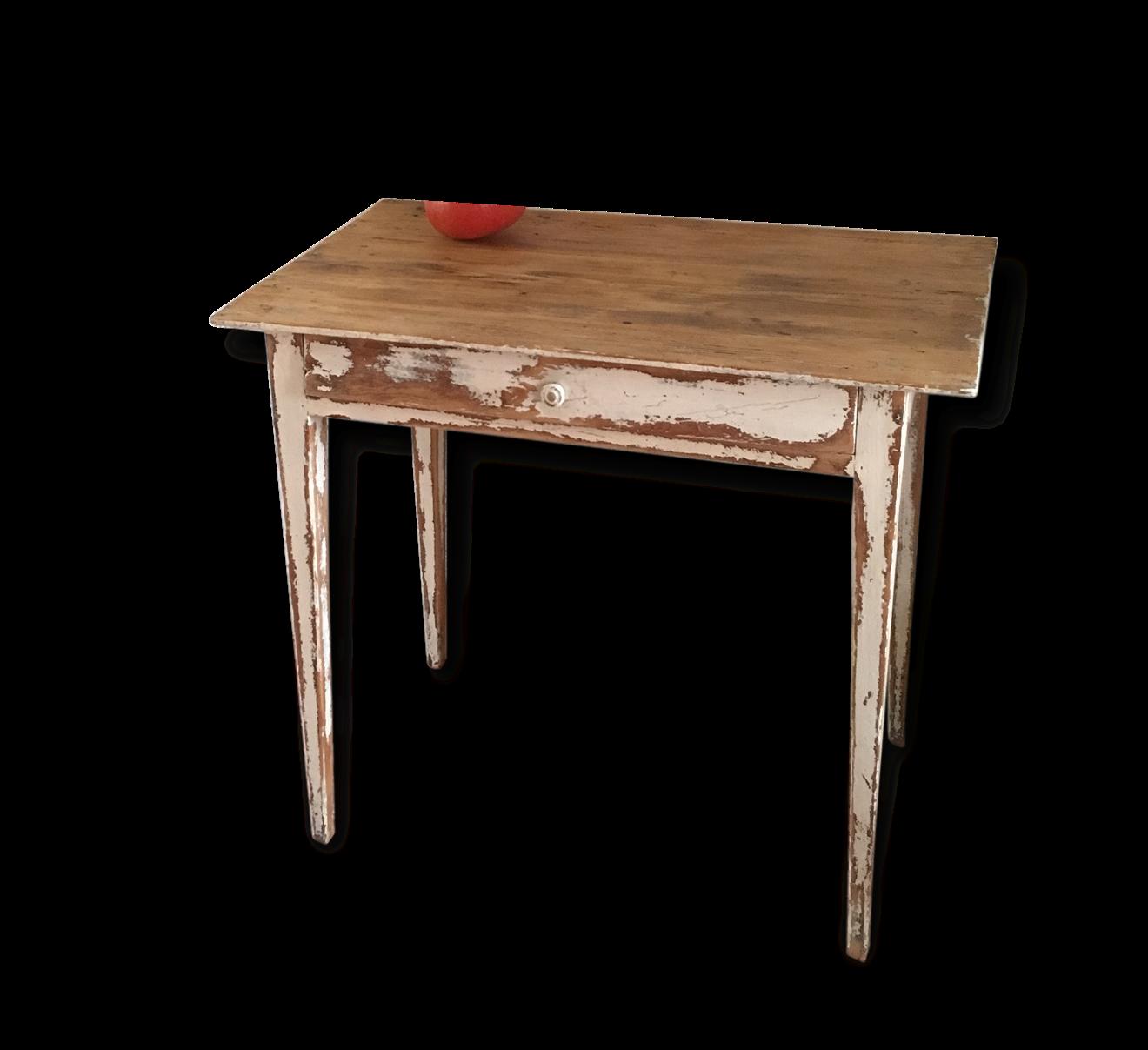 Table Ancienne Bois Brut Vintage
