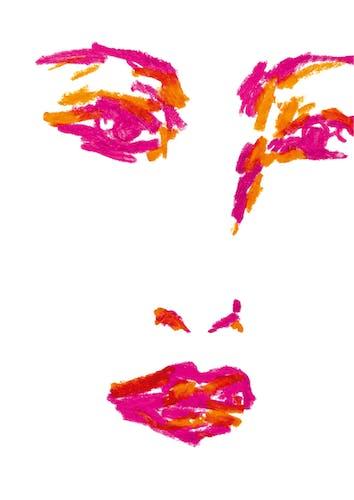 Illustration Pastel Portait #2