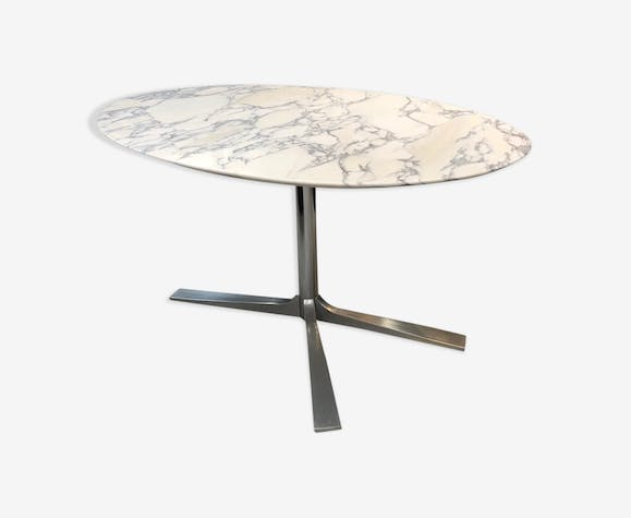 Marble table in the 1960