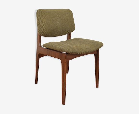Chaise en teck danois au milieu du siècle, des années 1960