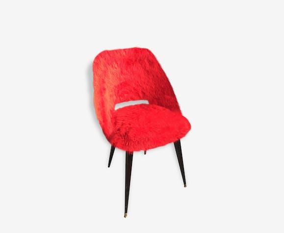 Chaise moumoute