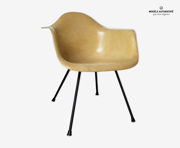 Fauteuil LAX chaise lounge base Charles & Ray Eames, Zenith Plastics, 1950