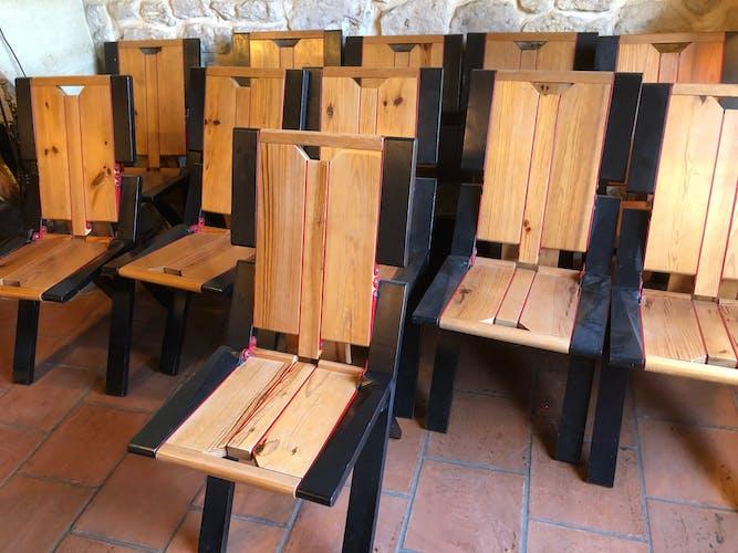 Paire de chaise pliantes