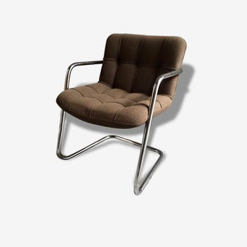 Armchair design Storm Yves Christin Airborne 1960 vintage