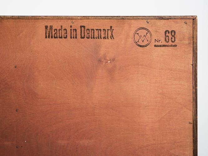 Midcentury Danish secretaire in rosewood by Arne Wahl Iversen for Vinde Møbelfabrik