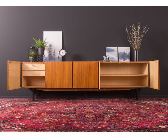 Walnut sideboard from the 1960s