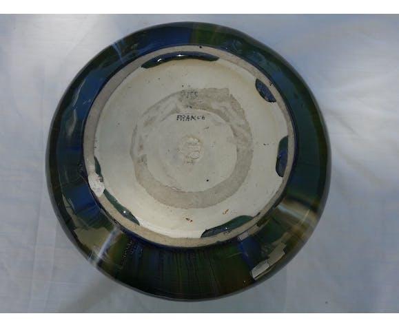 Vase céramique signé