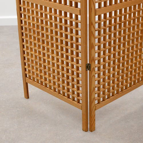 Paravent scandinave en pin 1970
