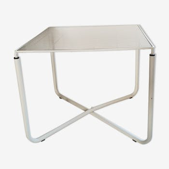 Table low white vintage Jarpen Niels Gammelgaard