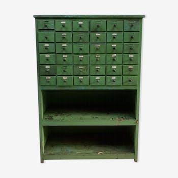 Ancien meuble d'apothicaire