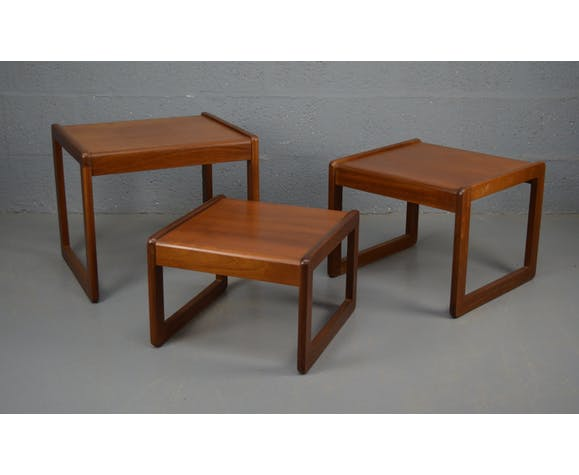 Tables gigognes 1960