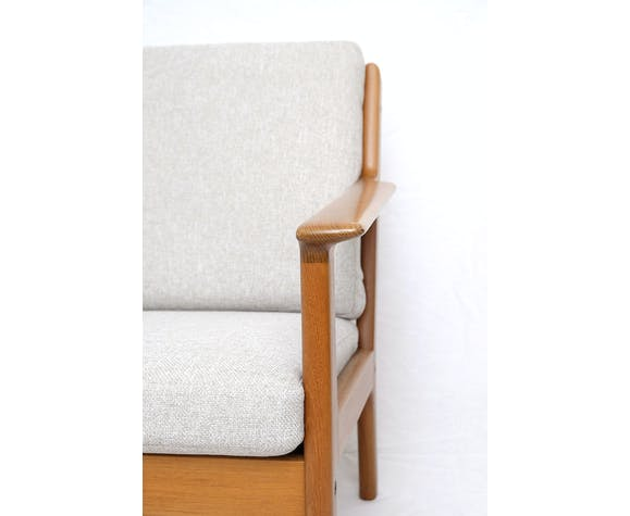 Modell GE-265 teak sofa by Hans J. Wegner for Getama