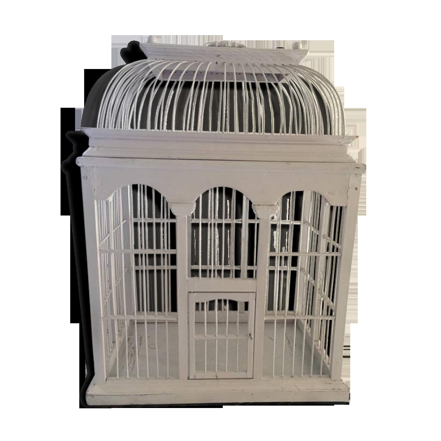 Rangement Pour Le Bois xx siècle. pagode pour oiseaux cage originale model à petit