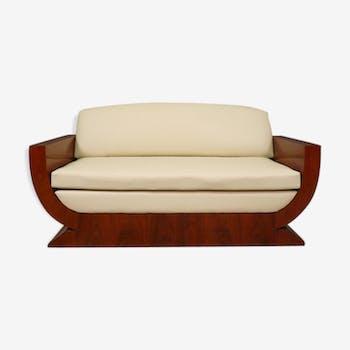 canap banquette style art d co d 39 occasion. Black Bedroom Furniture Sets. Home Design Ideas