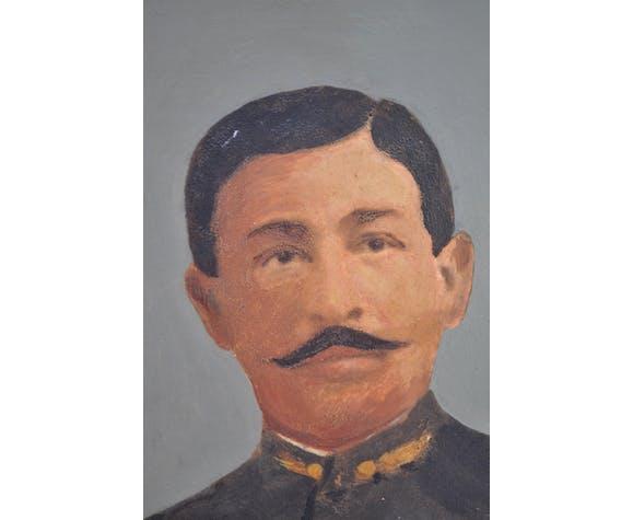Portrait militaire soldat 1ère Guerre Mondiale