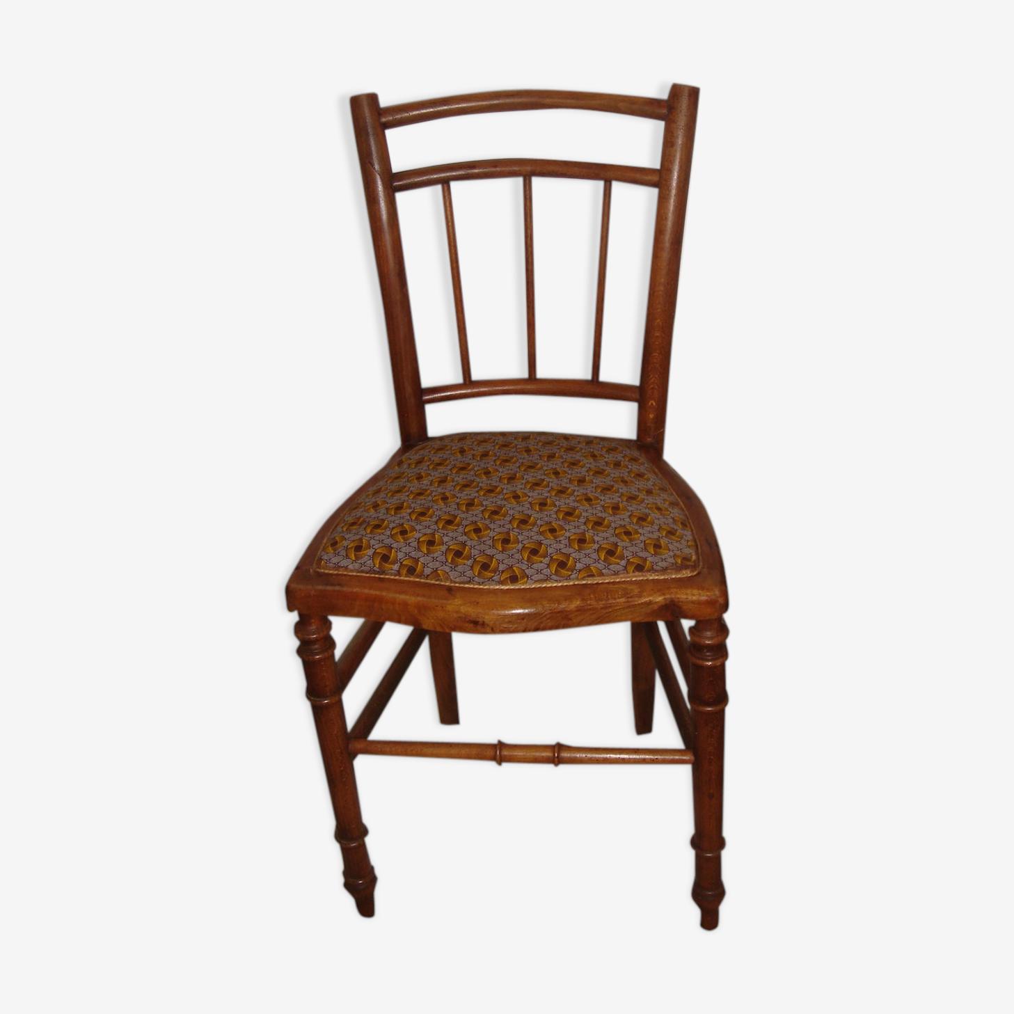 Chaise de chambre retapissée Thonet