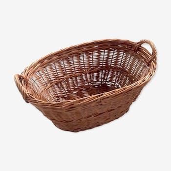 Old oval basket