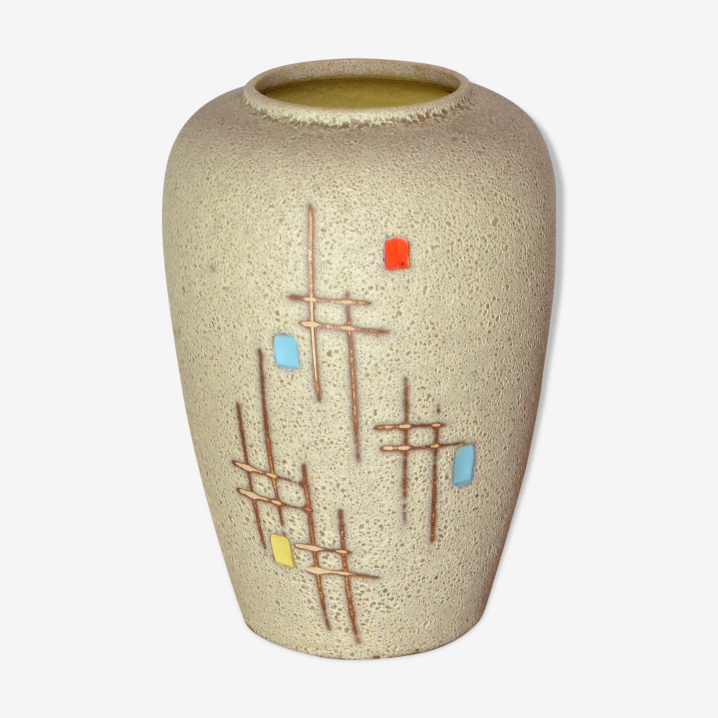 Vase West Germany graphique