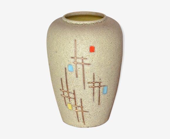 Vase West Germany graphique