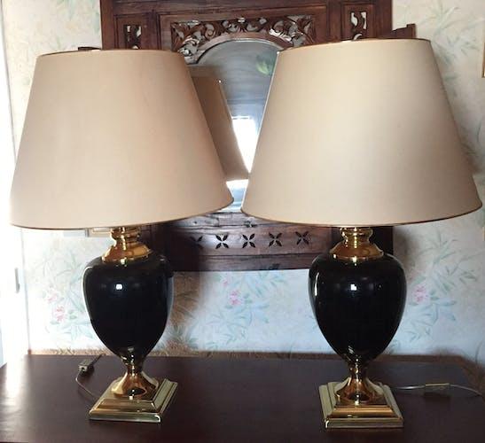 Ensemble de 2 lampes le dauphin