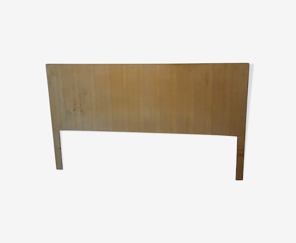 Tête de lit en bois et placage chêne