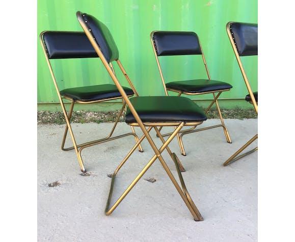 Lot de 4 chaises pliantes Lafuma
