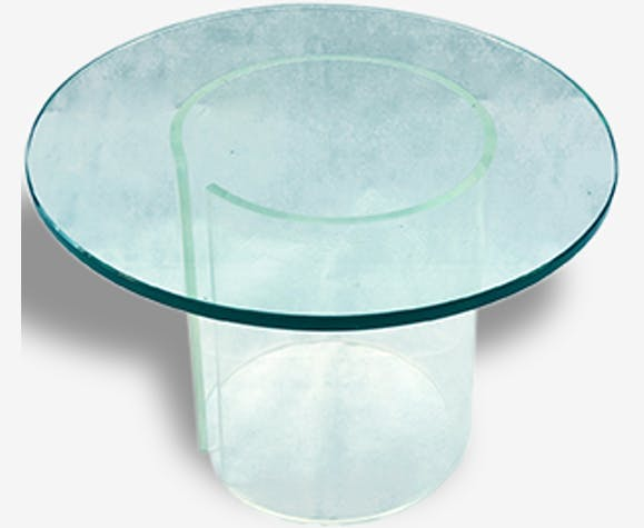 Small Round Glass Table Selency