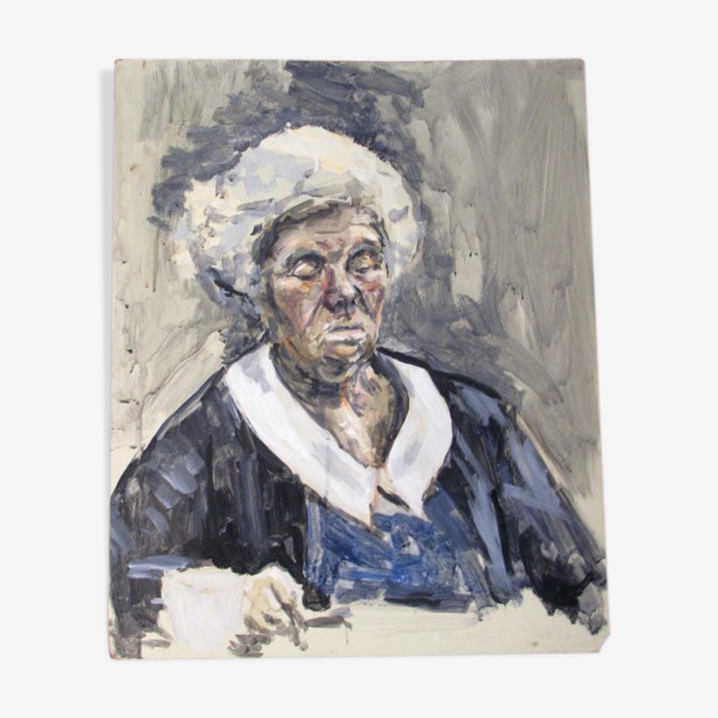 Portrait par Hazel Bruce Dunlop