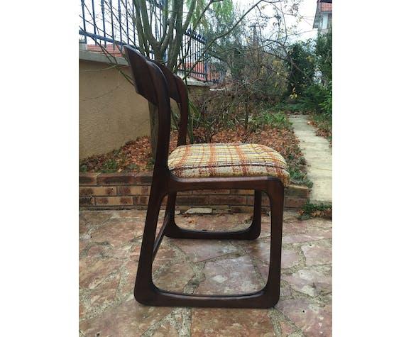 Ensemble de 6 chaises Traineau Baumann