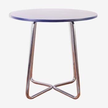 Bauhaus chrome tubular table By Karel E. Ort for Hynek Gottwald, 1930