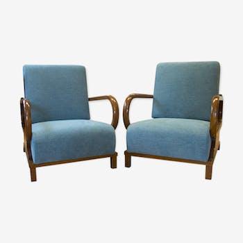 fauteuil chauffeuse style art d co d 39 occasion. Black Bedroom Furniture Sets. Home Design Ideas