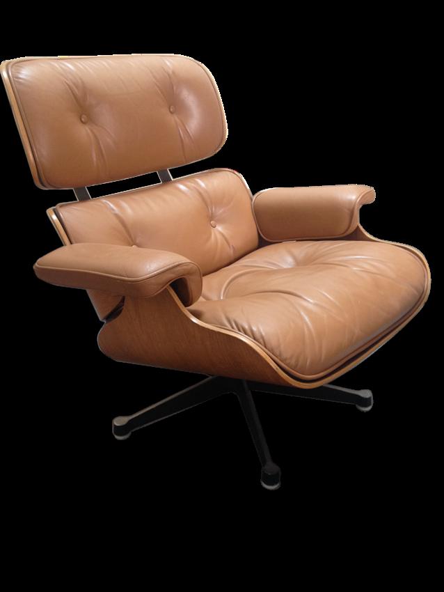 Fauteuil Lounge et Ottoman par Charles Eames Edition Mobilier International
