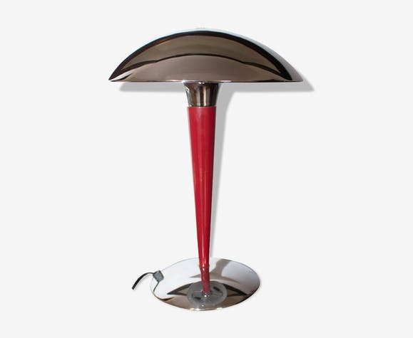Lampe Métal Argent Au Royaume Uni Fabriqué De Paquebot Table YDeWEH2I9