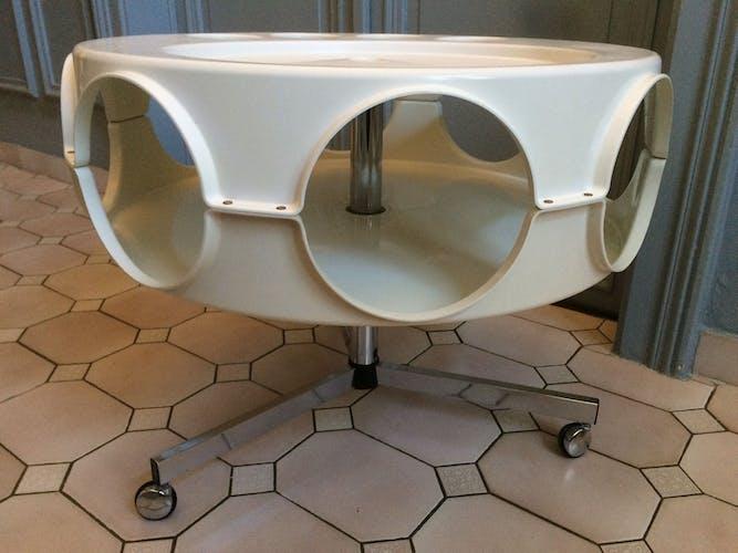 Table basse rotobar  vintage