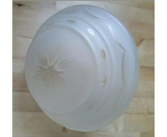 Globe de lampe vintage soucoupe