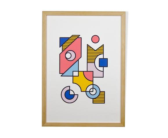 Affiche A3 - #002 - Série numérotée