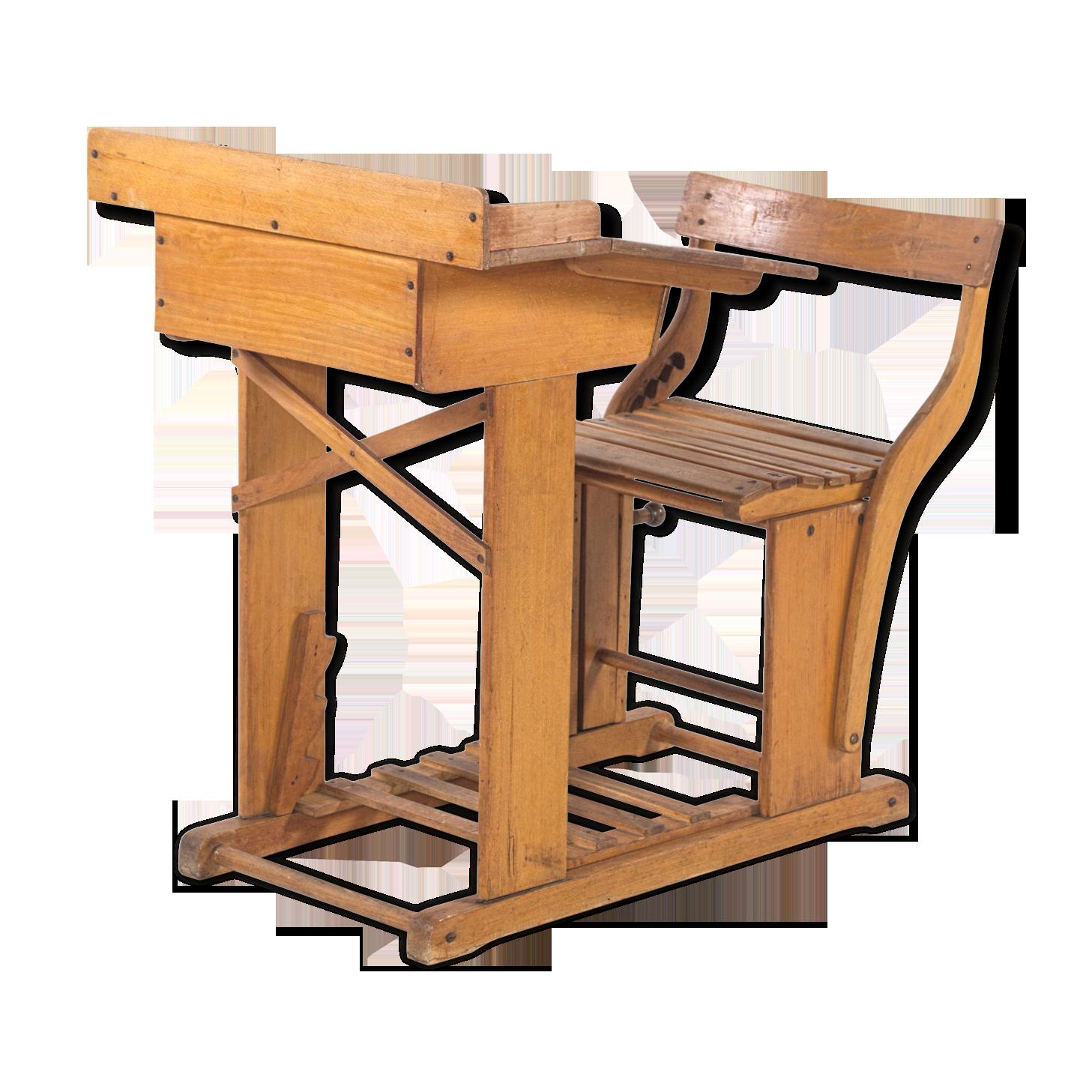 Bureaux en bois massif meubles haut de gamme en hévéa chêne