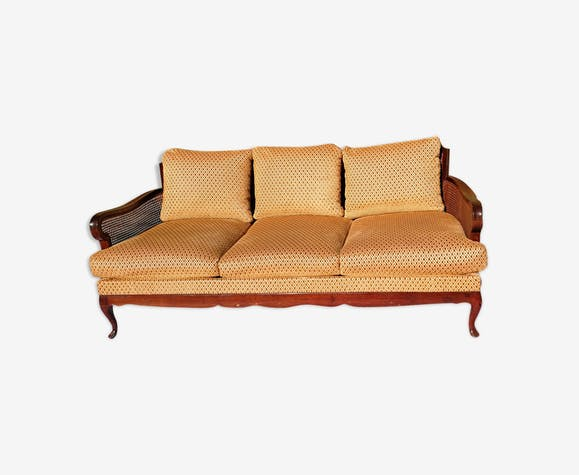Sofa In Caning Style English