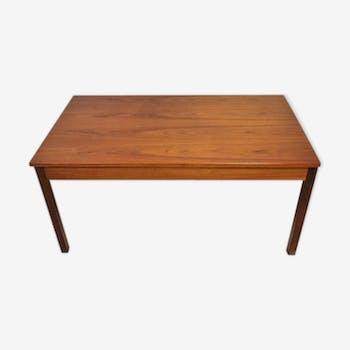 Scandinavian teak coffee table