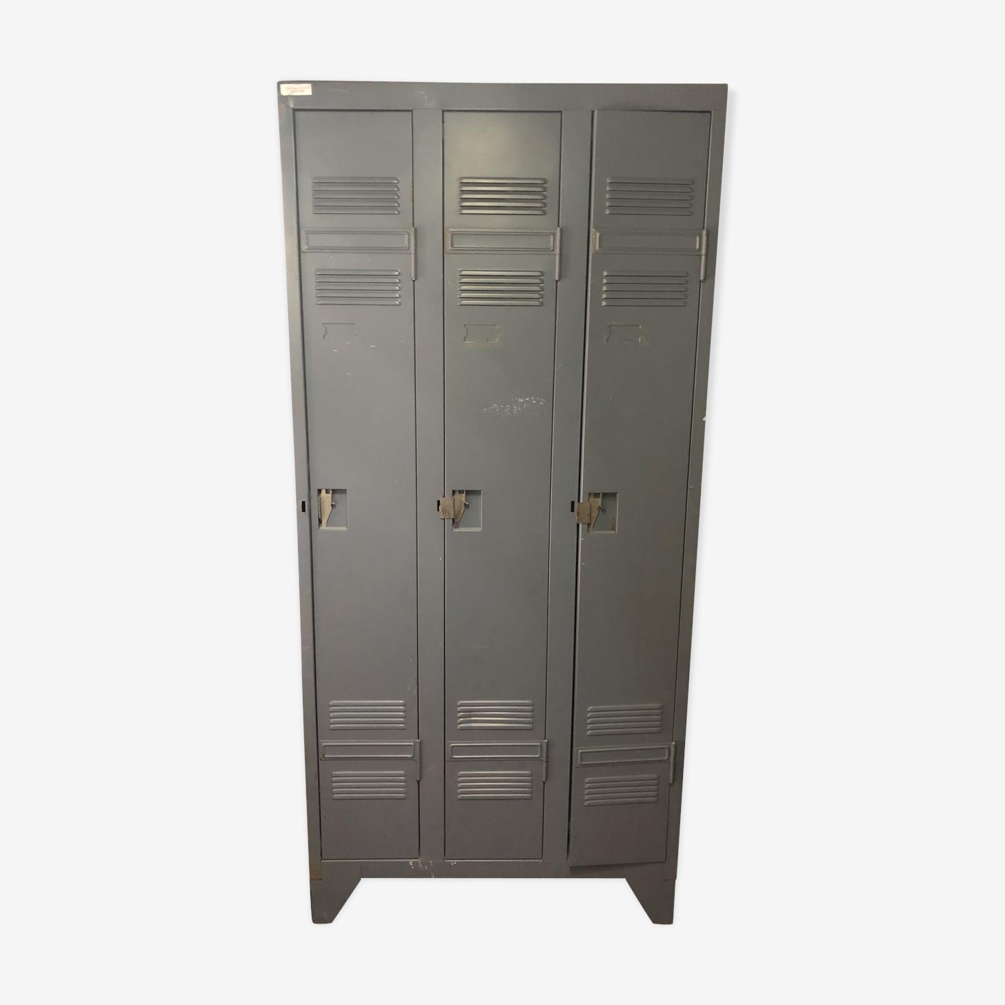Armoire métallique 3 portes