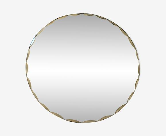 Miroir rond biseauté 20cm
